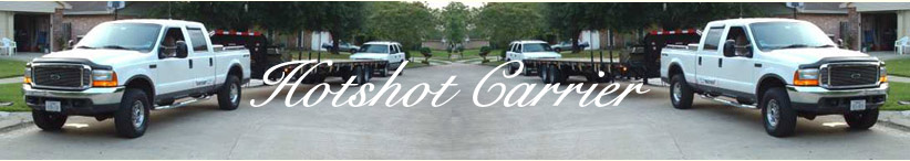 HOTSHOT CARRIER - If you are a Hotshot Carrier, you need a